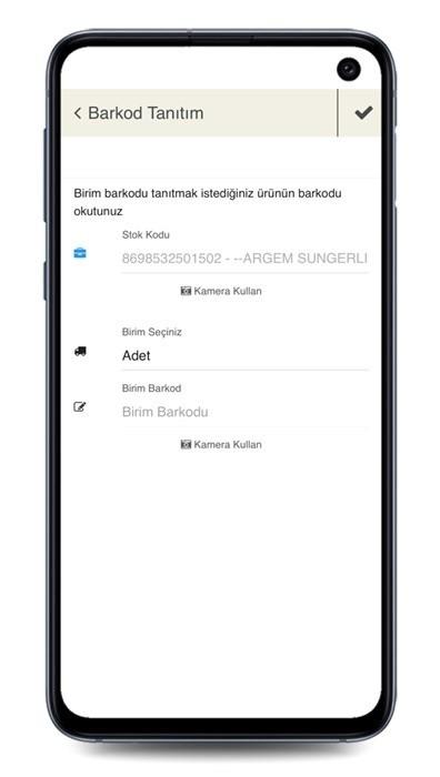 veyron-mobil-muhasebe-barkod-tanitim-ekrani